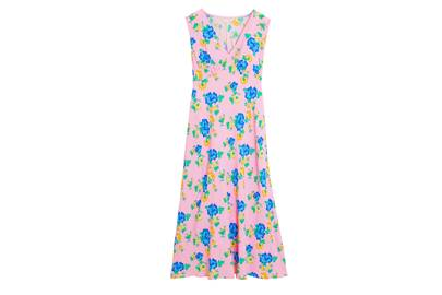 M&S x GHOST JUNE COLLECTION Sleeveless Pink Dress