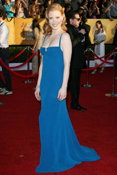 Jessica Chastain at the SAGs 2012