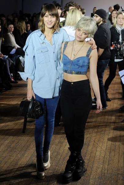 Alexa Chung & Pixie Geldof