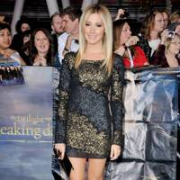 Ashley Tisdale at the LA premiere