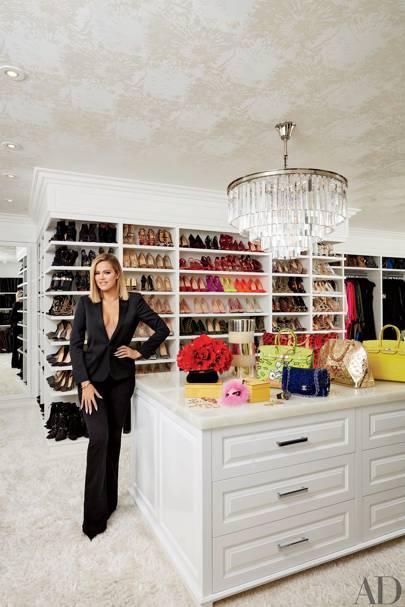 Khloé's closet