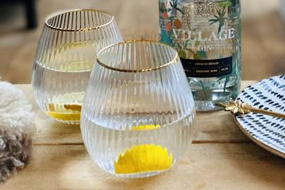 Best glassware: Not On The High Street gin goblets