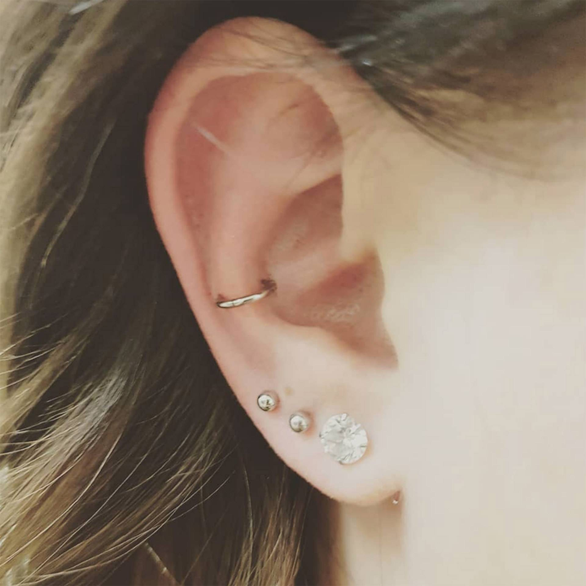 Types Of Ear Piercings How Much They Hurt Cost Glamour Uk