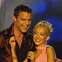 Christina Aguilera and Ricky Martin got steamy