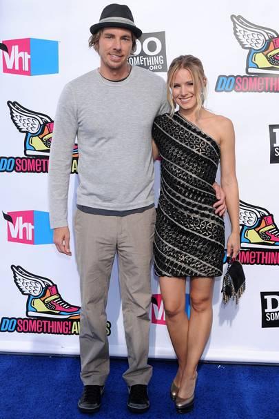 Dax Shepherd & Kristen Bell