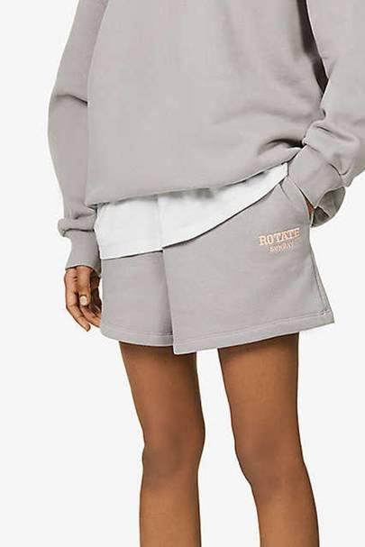 Organic cotton sweat shorts