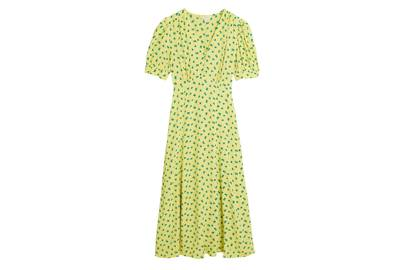 M&S x GHOST JUNE COLLECTION Puff-Sleeved Dress
