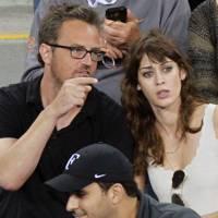 Matthew Perry & Lizzy Caplan