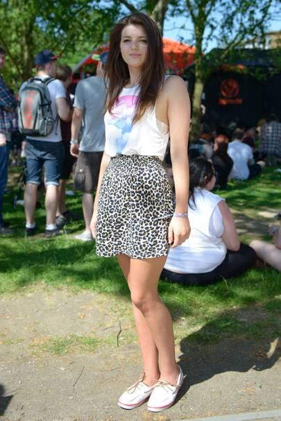 Katey Gabrysch, Waitress, Slam Dunk Festival 2012