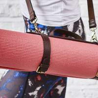 Best Yoga Gifts: The mat strap