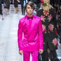 Dolce & Gabbana model, 2017