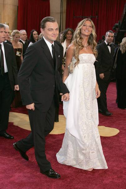 Gisele Bundchen and Leonardo Dicaprio, 2005