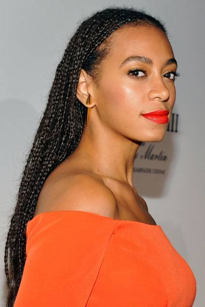 Solange Knowles best hairstyles & makeup - celebrity ...