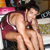 Jesse Metcalfe at Coachella