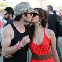 Ian Somerhalder and Nina Dobrev at Coachella 2012