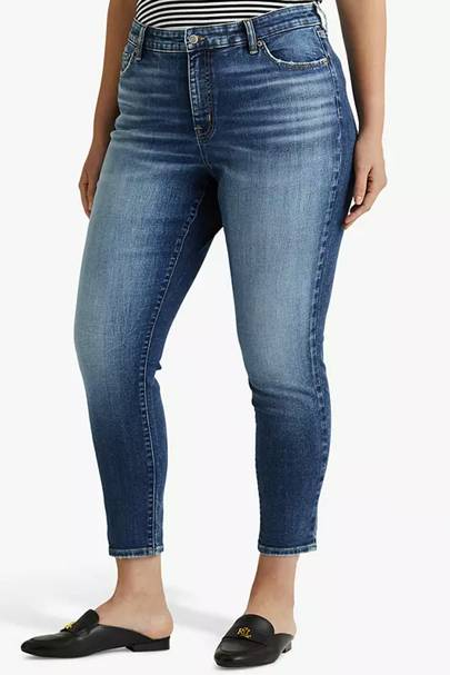Best Jeans For Curvy Women: High Rise Skinny
