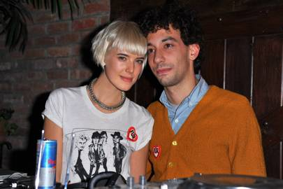 Agyness Deyn & Albert Hammond Jr
