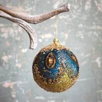 Best Christmas decorations: the beaded peacock bauble