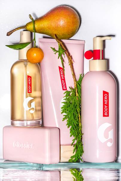 Here's your first look at Glossier's new body products