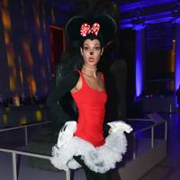 Joan Smalls as Minnie Mouse