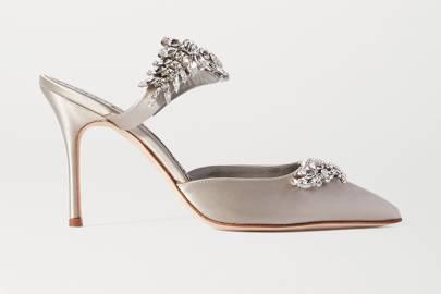 Designer Wedding Shoes: Manolo Blahnik