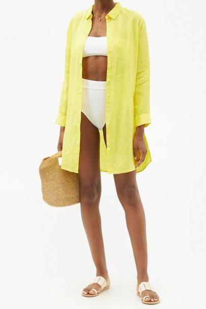 Linen dresses: Melissa Odabash