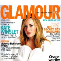 GLAMOUR hits the newsstands!
