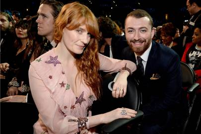 Florence Welsh and Sam Smith