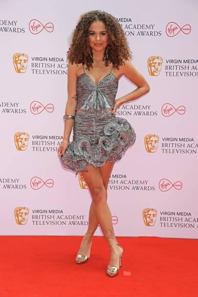 BAFTA TV Red Carpet: Jessica Plummer