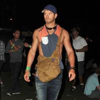 Kellan Lutz at Coachella
