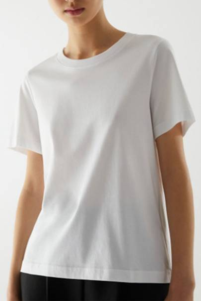 Best COS White T-Shirt