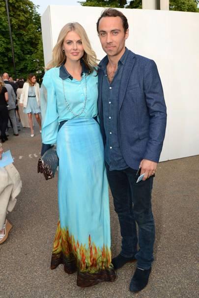 September: Donna Air & James Middleton