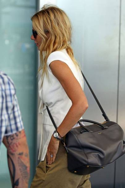 7bea04d6 Everyone's wearing...the Saint Laurent Duffle Bag - Celebrity ...
