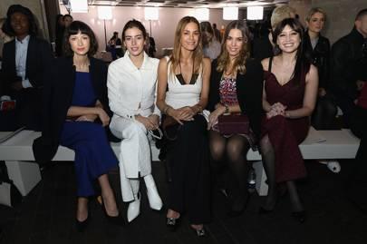 Caitriona Balfe, Clara McGregor, Yasmin Le Bon, Amber Le Bon & Daisy Lowe