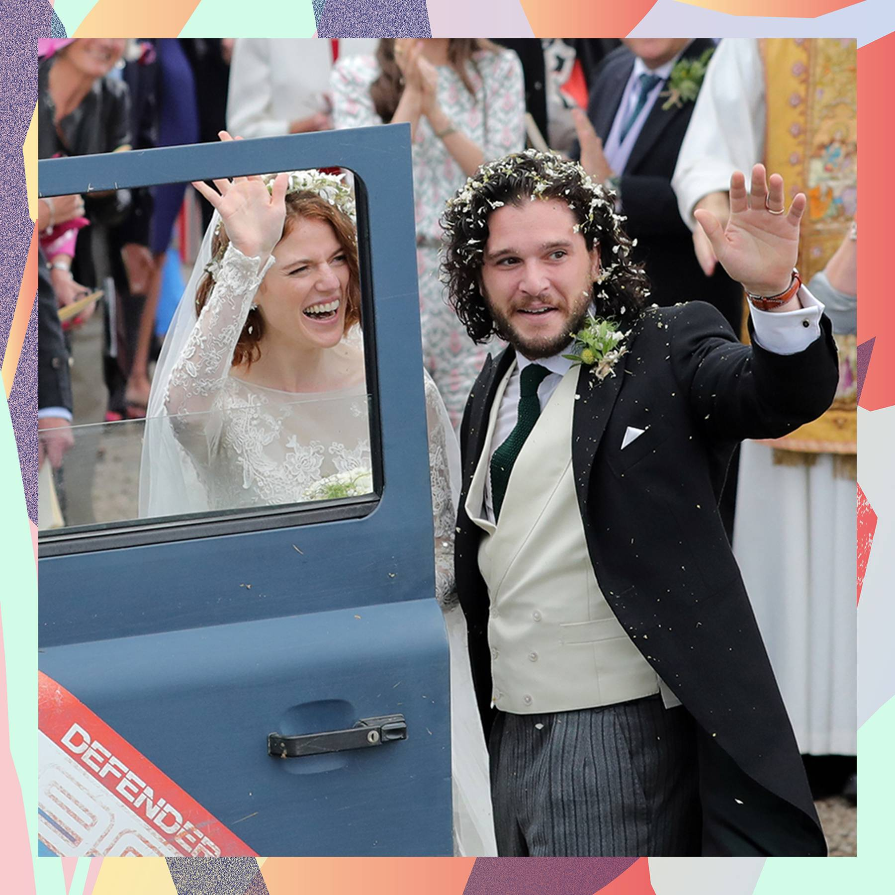Kit Harrington and Rose Leslie wedding: Jon Snow And Ygritte Marry ...