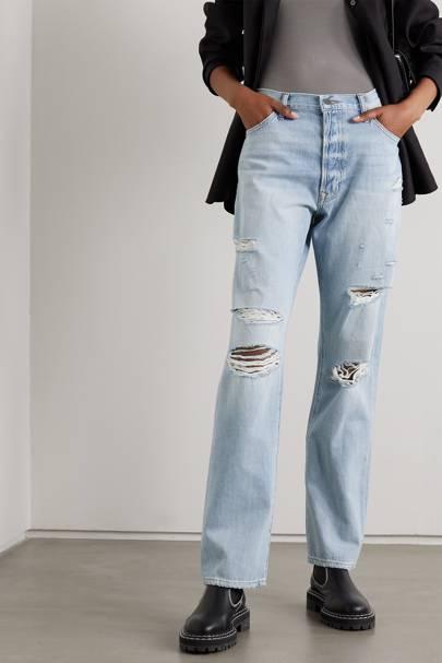 Best distressed boyfriend jeans