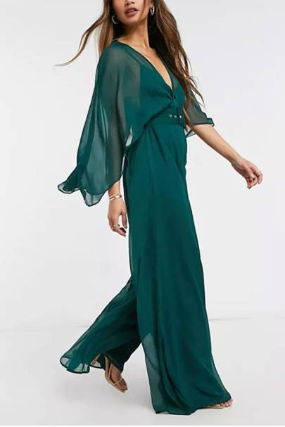 Best Wedding Guest Jumpsuits - Floaty Sleeves
