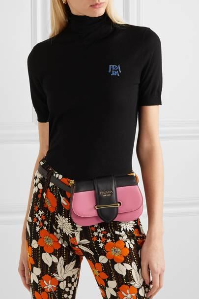 Leather bum bags: Prada