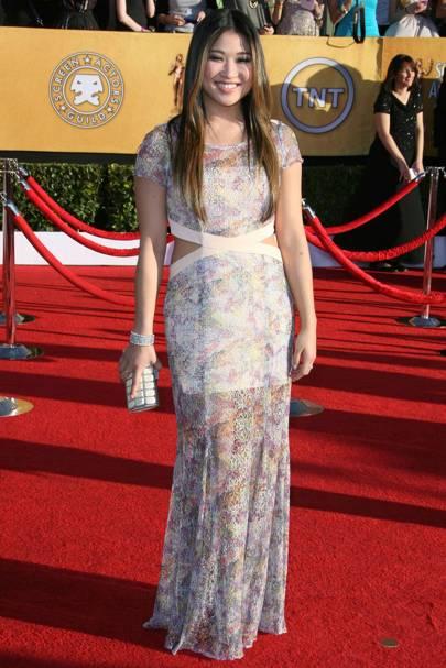 Jenna Ushkowitz at the SAGs 2012