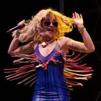 Rita Ora performs at Virgin Media V Festival 2012