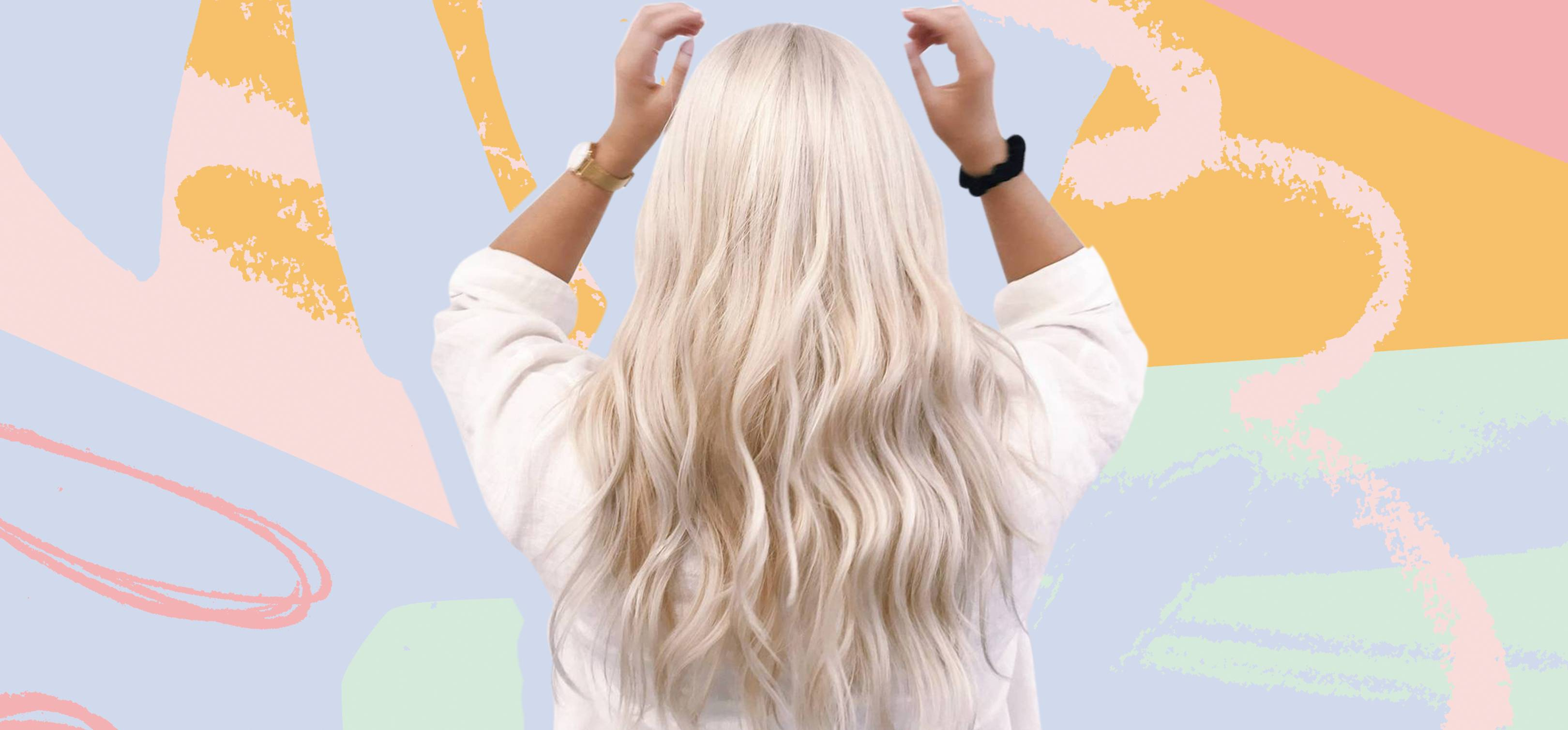White Blonde Hair How To Go Platinum