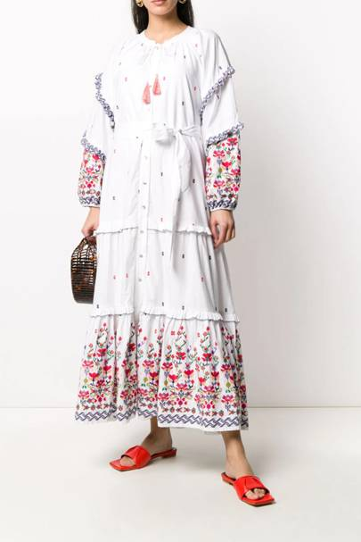 CHUFY - FLORAL EMBROIDERED DRESS