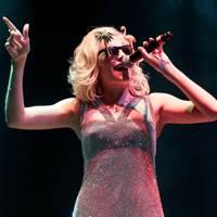 Pixie Lott performs at Virgin Media V Festival 2012
