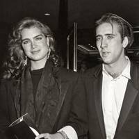 Nicolas Cage and Brooke Shields