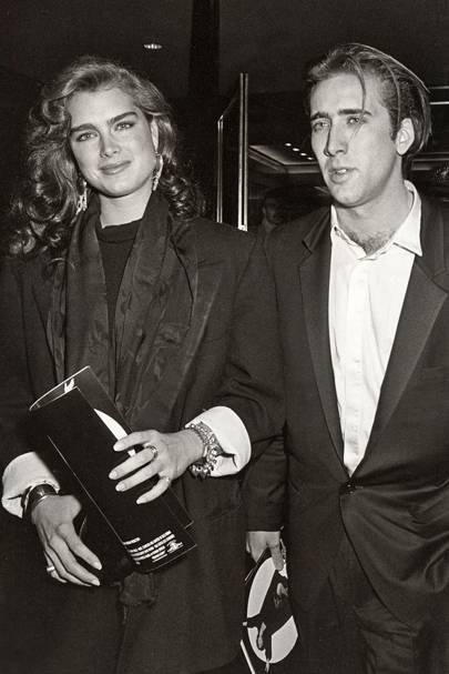Brooke Shields & Nicolas Cage