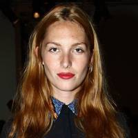 DO #7: Josephine de la Baume's burnt orange hair hue - September