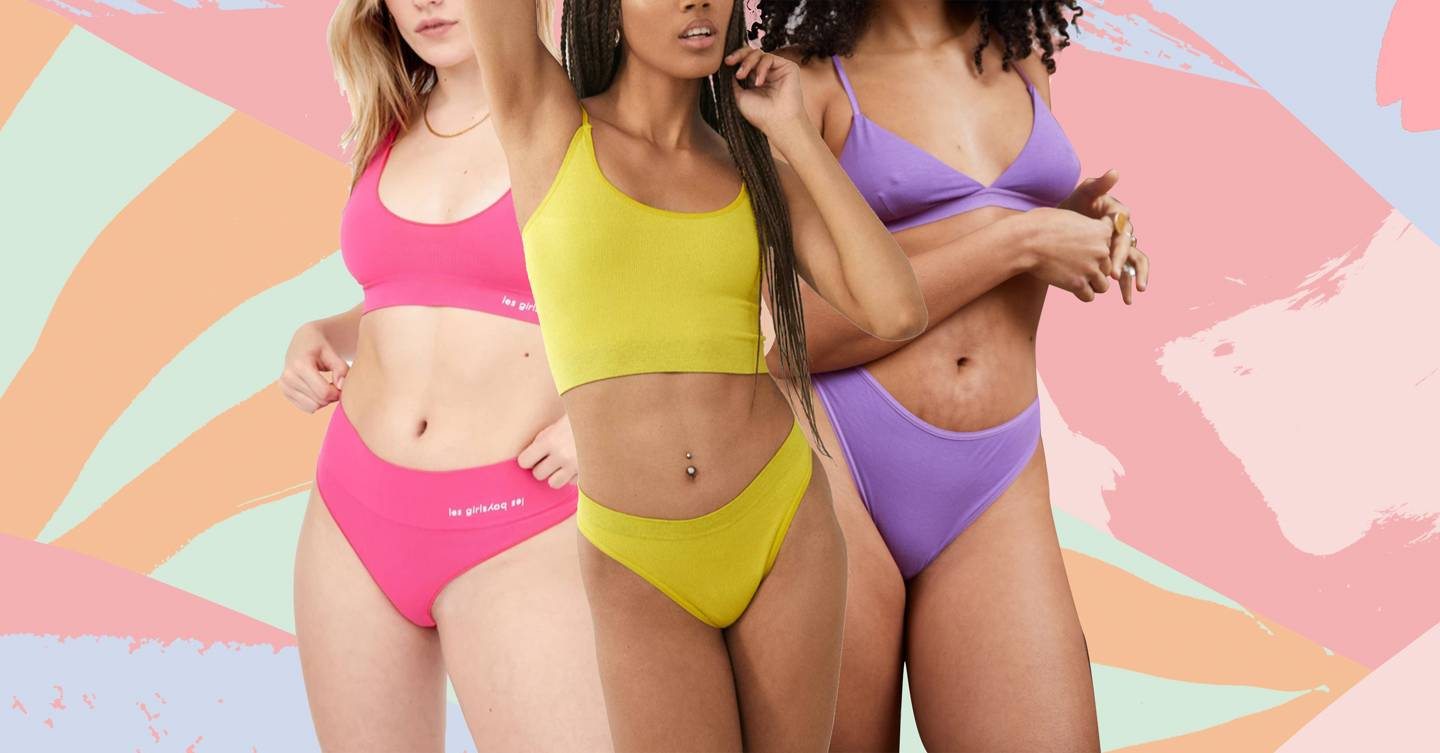 Colourful lingerie is here to boost your mood and confidence