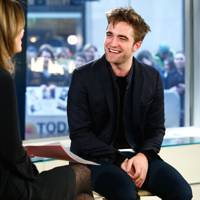 Robert Pattinson appears on the Today show