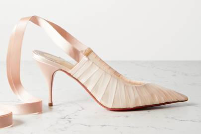 Designer Bridal Shoes: Christian Louboutin