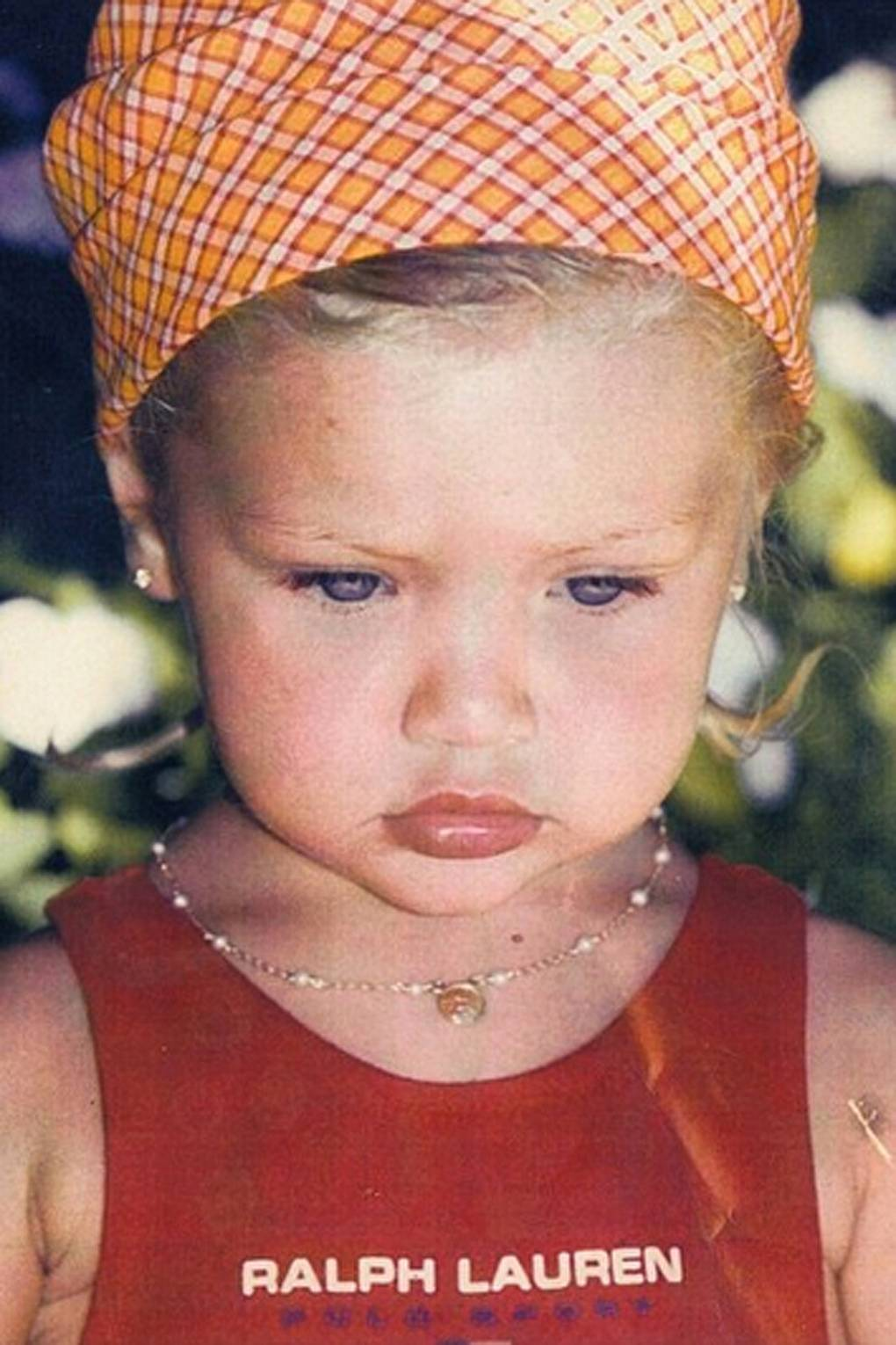 Supermodels As Babies And Children: Then And Now Of The